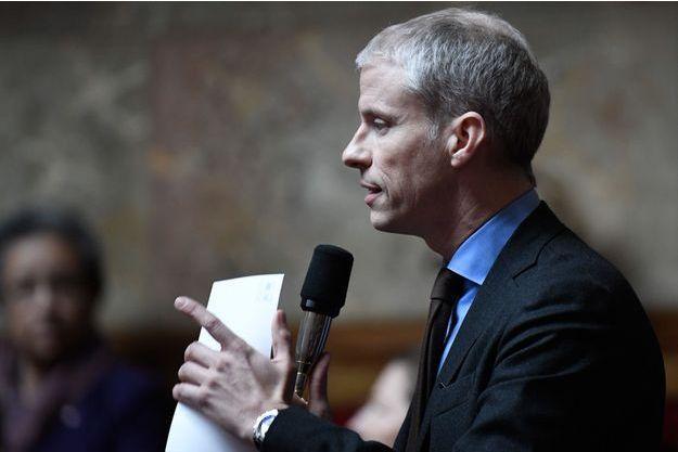 Franck Riester à l'Assemblée nationale.