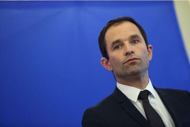 Benoît Hamon le 15 janvier dernier.