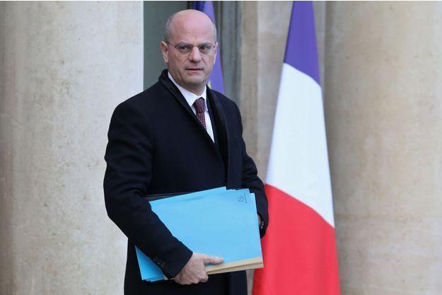 Jean-Michel Blanquer, ici à l'Elysée fin décembre.