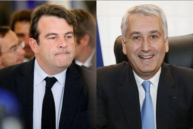 Thierry Solère et Pierre-Christophe Baguet.