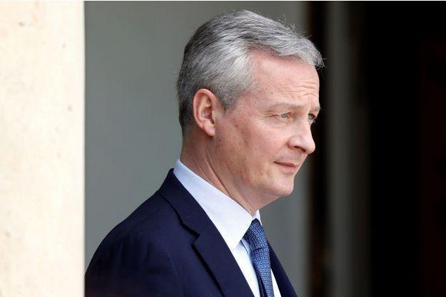 Bruno Le Maire, fin mai à l'Elysée.