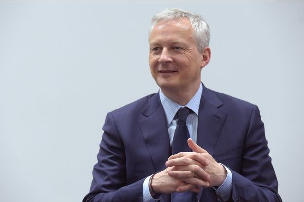 Bruno Le Maire, le 2 avril à Paris.