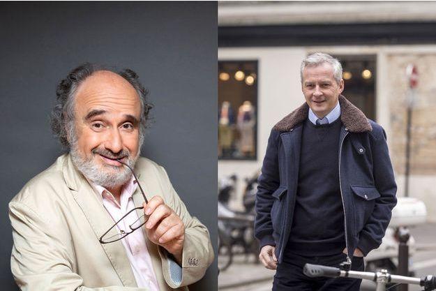 Alain Sachs et Bruno Le Maire