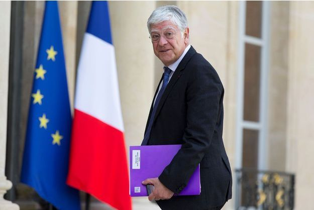 Pierre-René Lemas à l'Elysée en mai 2015.