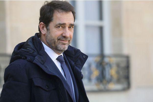 Christophe Castaner fin février à l'Elysée.