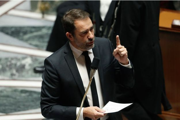 Christophe Castaner mardi à l'Assemblée.