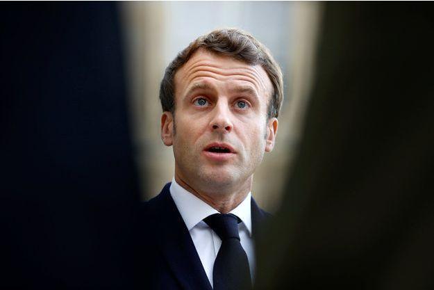 Emmanuel Macron, le 6 mai, à l'Elysée.