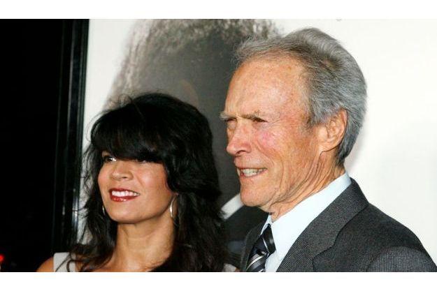 Clint Eastwood et son épouse, en 2010.