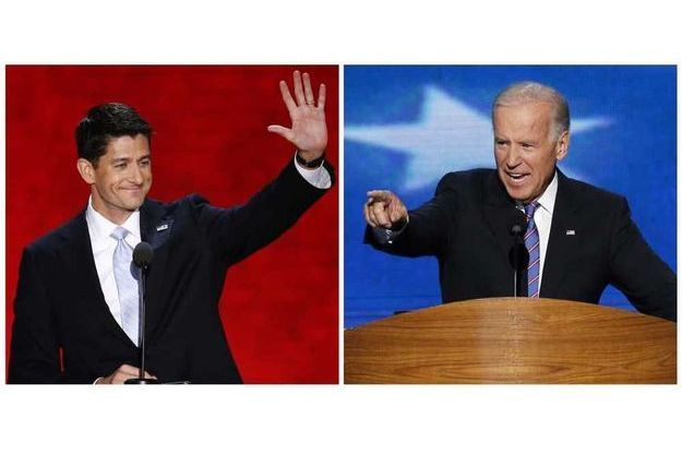 Paul Ryan et Joe Biden.