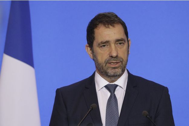 Christophe Castaner aux Invalides jeudi.