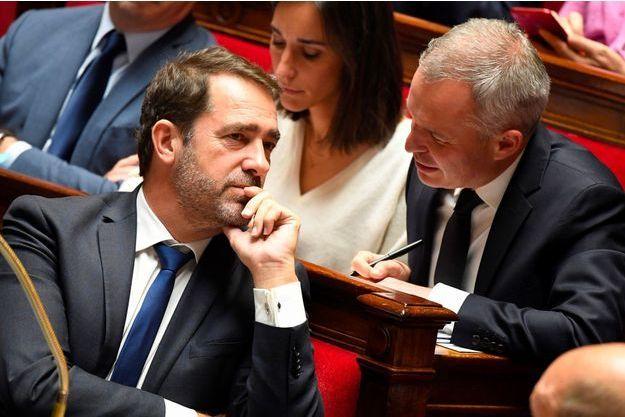 Le ministre de l'Intérieur Christophe Castaner à l'Assemblée nationale, le 24 octobre.