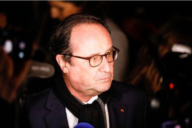 Francois Hollande, ici au rassemblement contre l'antisémitisme à Paris fin février.