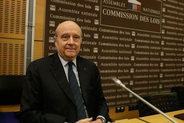 Alain Juppé jeudi lors de son oral devant les députés.