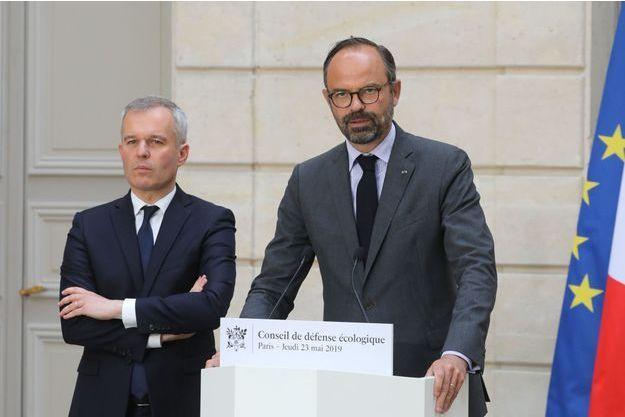 François de Rugy et Edouard Philippe ici en mai à l'Elysée.