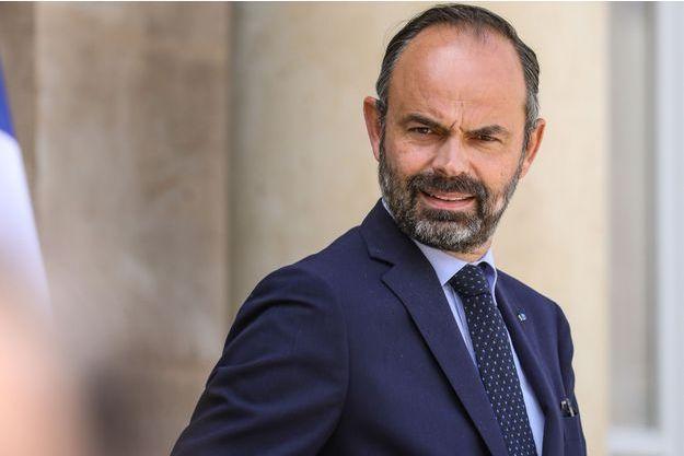 Le Premier ministre Edouard Philippe, mercredi à l'Elysée.