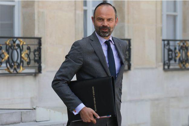 Edouard Philippe mardi à l'Elysée.