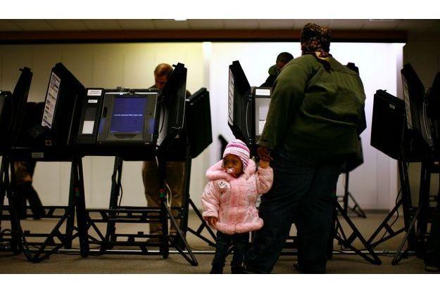 Un bureau de vote de Columbus.