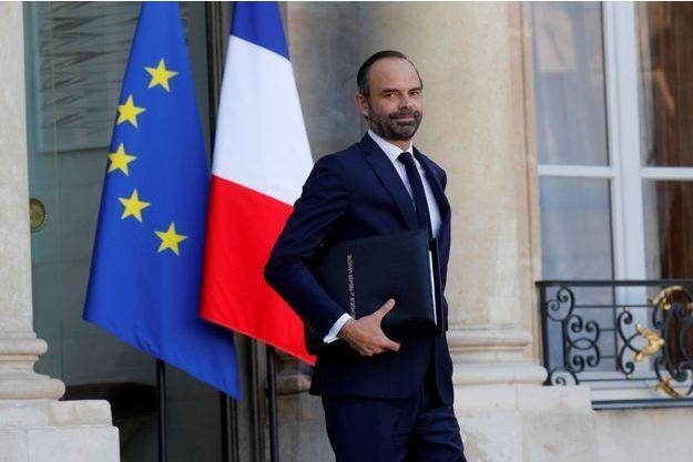 Édouard Philippe, à la sortie du Conseil des ministres mercredi.
