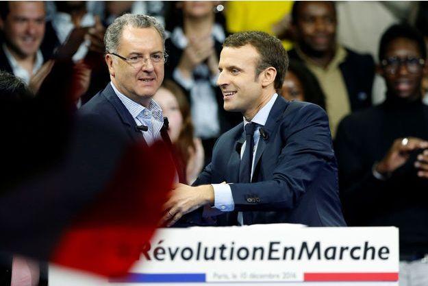 Emmanuel Macron et Richard Ferrand