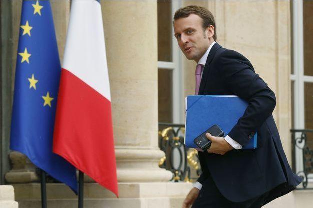 Emmanuel Macron à l'Elysée, mardi.
