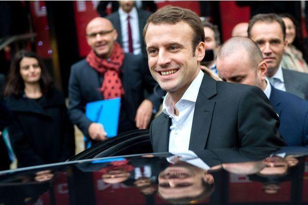 Emmanuel Macron le 12 décembre.