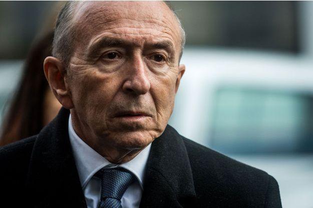 Gérard Collomb à Lyon, le 8mars 2019.