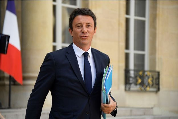 Benjamin Griveaux mercredi lors du premier Conseil des ministres de la rentrée.