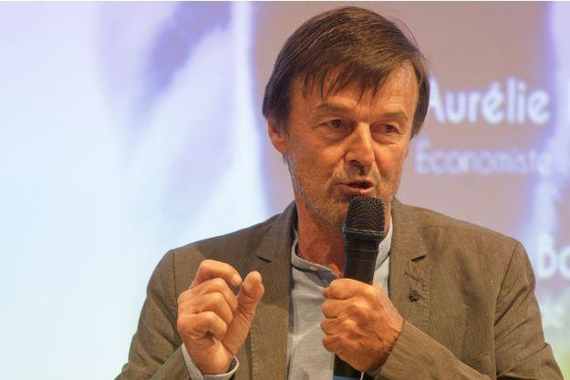 L'ancien ministre de l'Ecologie Nicolas Hulot, ici en avril à Paris.