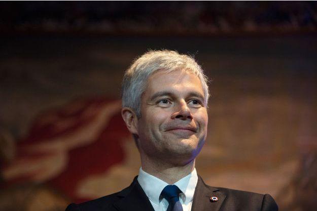 Laurent Wauquiez mi-janvier à Lyon.