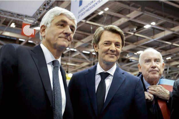 Herve Morin, Francois Baroin et Dominique Bussereau.