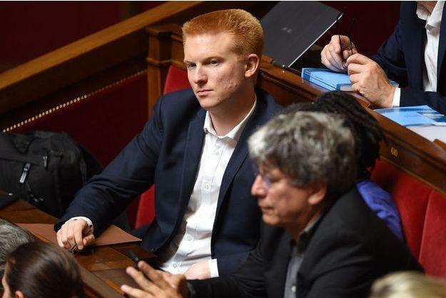 Adrien Quatennens à l'Assemblée nationale, le 4 juin.