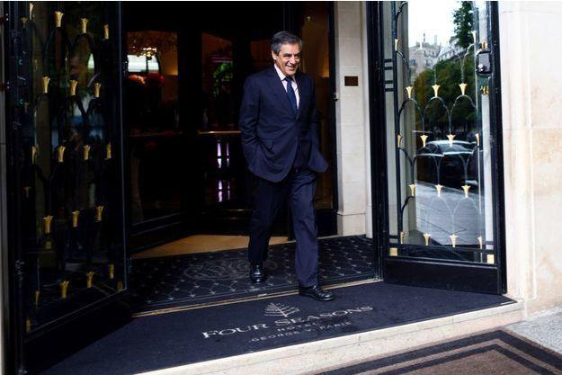 François Fillon à Paris en juin 2017.