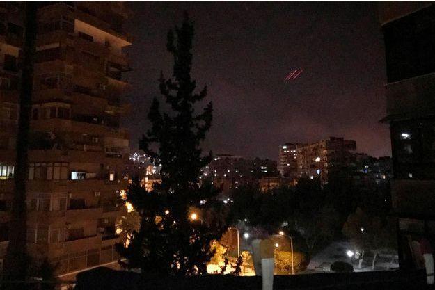 Frappes Syrie
