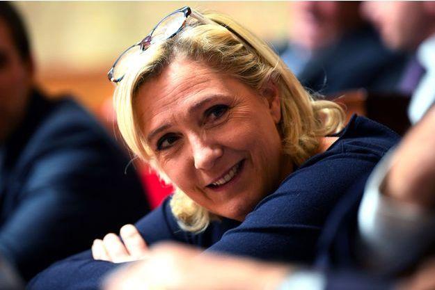 Marine Le Pen à l'Assemblée nationale le 14 novembre.