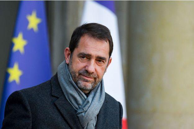 Christophe Castaner le 21 novembre à l'Elysée.