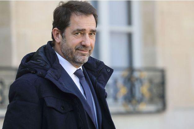 Christophe Castaner à l'Elysée le 17 février.