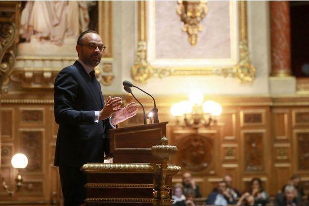 Edouard Philippe devant le Sénat le 6 décembre.