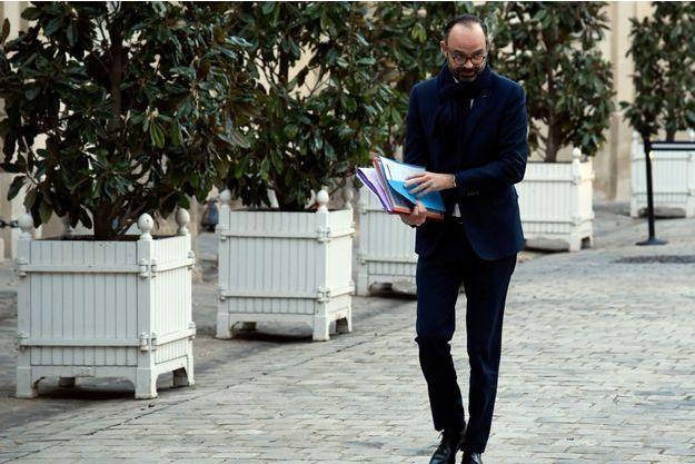 Edouard Philippe, ici le 18 janvier à Paris.