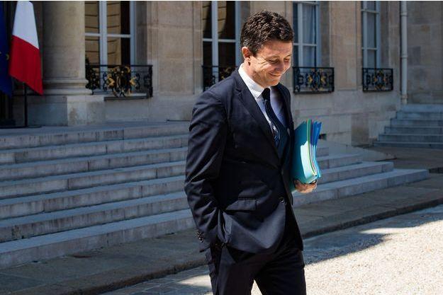 Benjamin Griveaux, début août à l'Elysée.