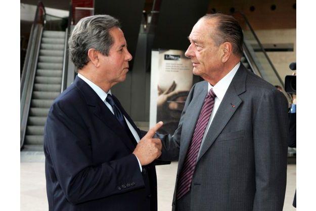 Jacques Chirac et Jean-Louis Debré, une complicité sans failles.