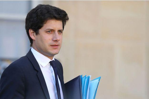 Le ministre du Logement Julien Denormandie, ici à l'Elysée mi-novembre 2018.