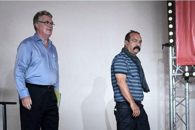 Jean-Paul Delevoye et Philippe Martinez ont débattu des retraites à la Fête de l'Humanité