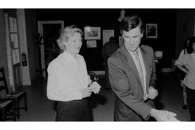 Jérôme et Patricia Cahuzac en 1997.