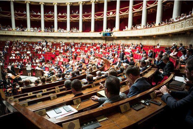 L'hémicycle de l'Assemblée nationale le 20 juin dernier.