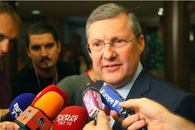 Le sénateur LR Philippe Bas, président de la commission d'enquête sénatoriale, fin juillet.