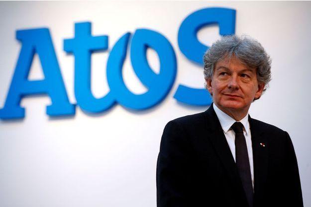 Thierry Breton, PDG d'Atos, à Paris le 12 avril 2016.