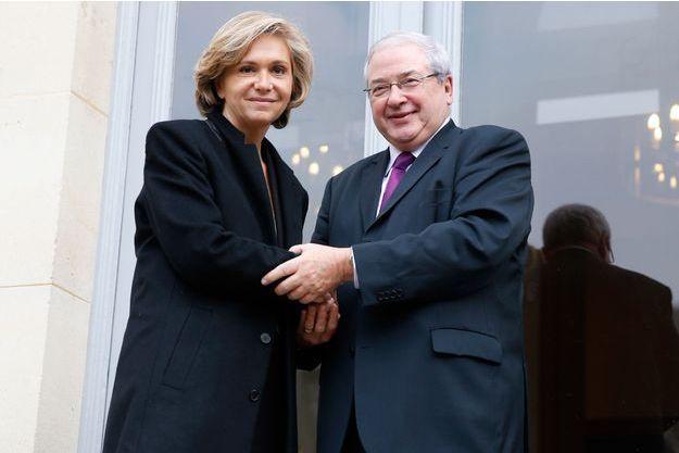 Valérie Pécresse et Jean-Paul Huchon, à Paris en décembre 2015.