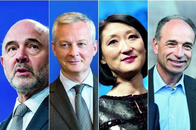 Pierre Moscovici, Bruno Le Maire, Fleur Pellerin, Jean-François Copé