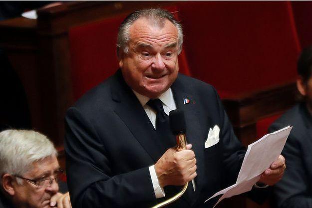 Alain Marsaud lorsqu'il siégeait à l'Assemblée nationale.