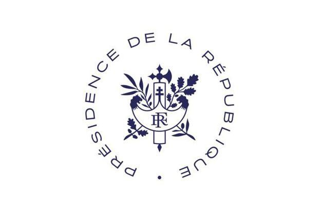 Le nouveau logo de l'Elysée.